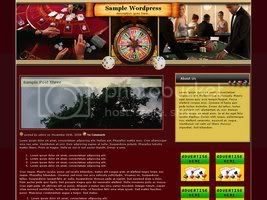 Wordpress Themes Red Poker 182