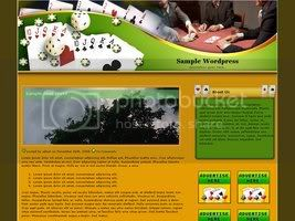 Wordpress Themes Poker 183