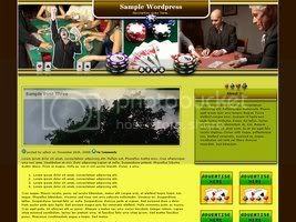 Wordpress Themes Winning Poker Player