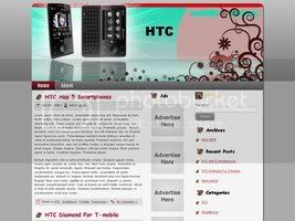 Wordpress Themes Smartphone HTC