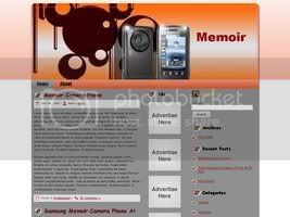 Wordpress Themes Smartphone Memoir