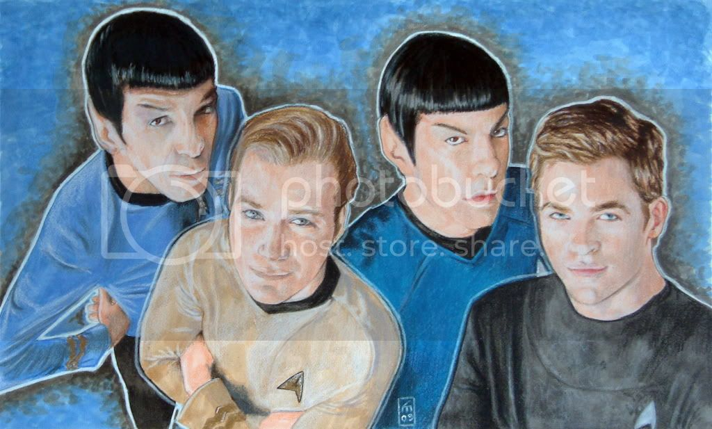 Star Trek Print $10 + Shipping