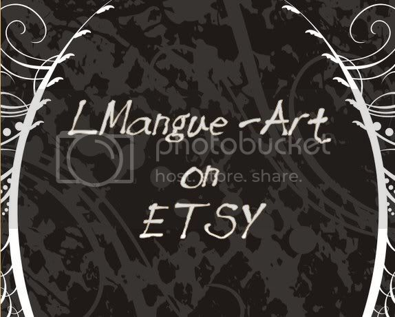 L. Mangue Art on Etsy