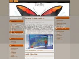 Wordpress Themes Butterfly Reborn