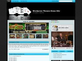 Wordpress Themes Online Casino Template 21