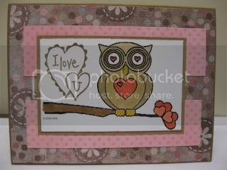 Heart branch Tree Owl